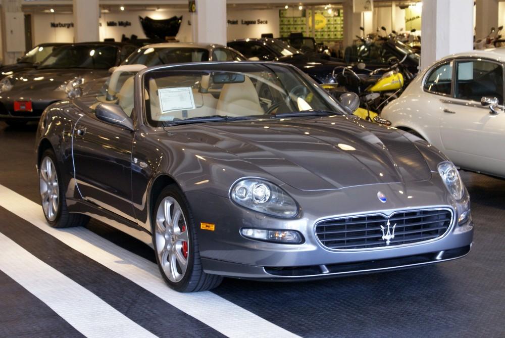 2005 Maserati Spyder Cambiocorsa Stock # 140810 for sale near San ...