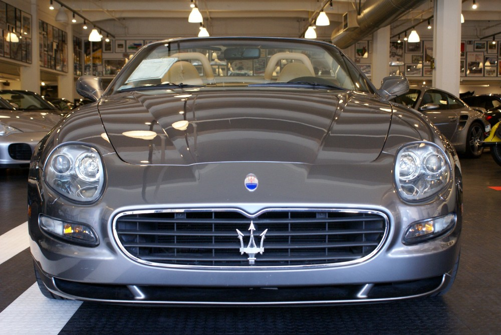 2005 maserati spyder cambiocorsa stock 140810 for sale. Black Bedroom Furniture Sets. Home Design Ideas