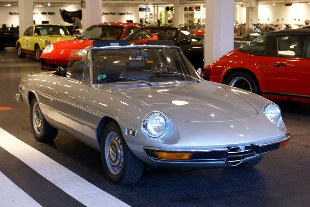 1971 alfa romeo spider iniezione stock 141008 for sale near san francisco ca ca alfa romeo - Nearest alfa romeo garage ...
