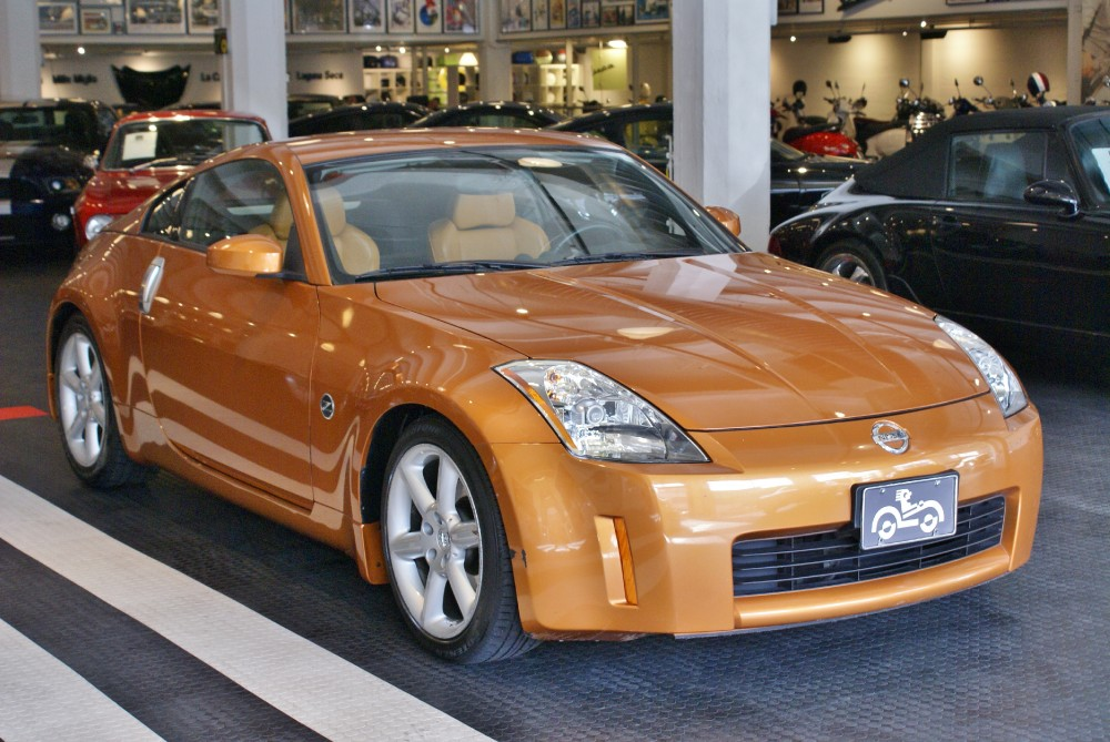 Used 2004 Nissan 350z Enthusiast For Sale 14 900 Cars