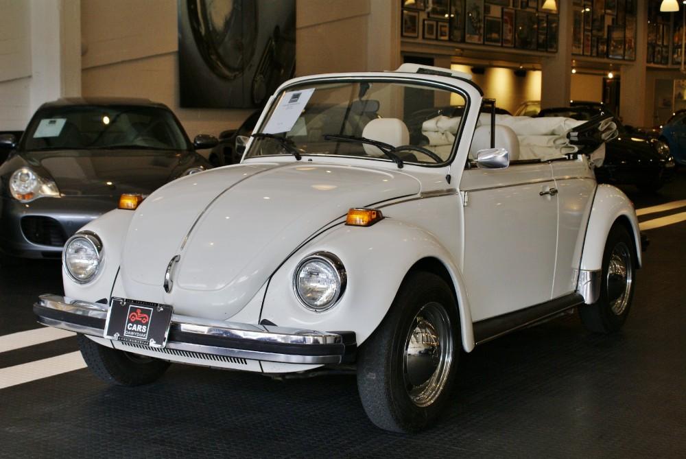 1979 Volkswagon Super Beetle Vinyl Stock 150316 For Sale