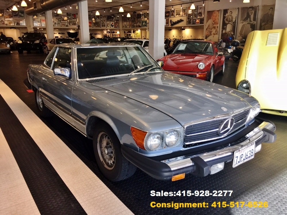 1980 mercedes benz 450sl stock 151206 for sale near san for Used 450sl mercedes benz sale