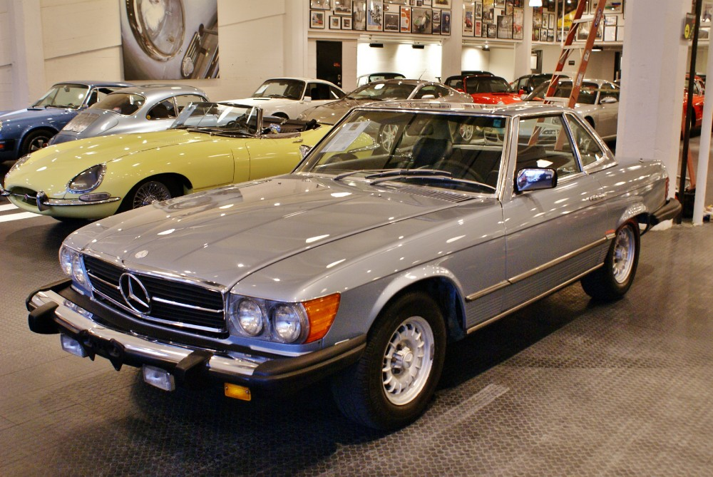 1980 Mercedes Benz 450sl Stock 151206 For Sale Near San