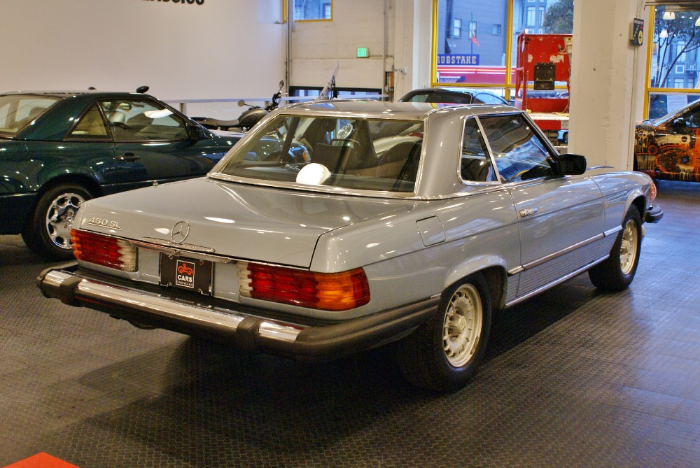 mercedes benz 450sl owners manual