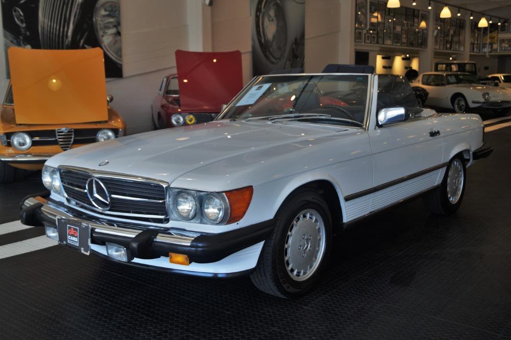1986 mercedes benz 560 class 560sl stock 160414 16 for for Mercedes benz dealer san francisco