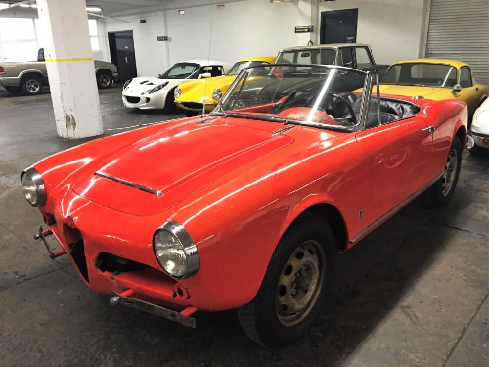 1965 alfa romeo giulia spider 1600 stock 160318 16 for sale near san francisco ca ca alfa - Nearest alfa romeo garage ...