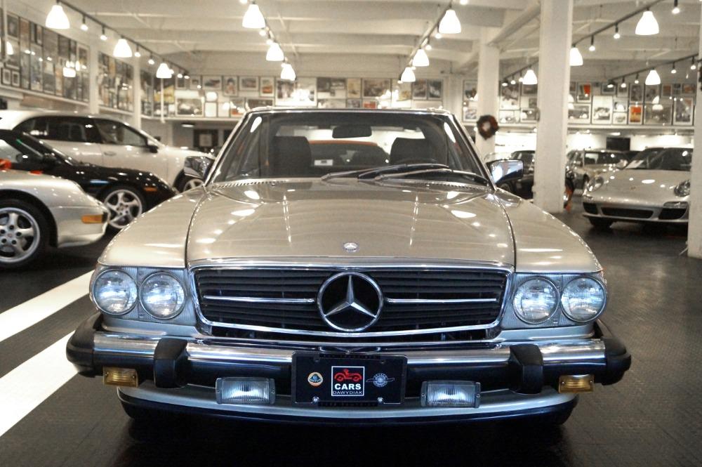 1989 mercedes benz 560 class 560sl stock 161210 16 for for Mercedes benz dealer san francisco