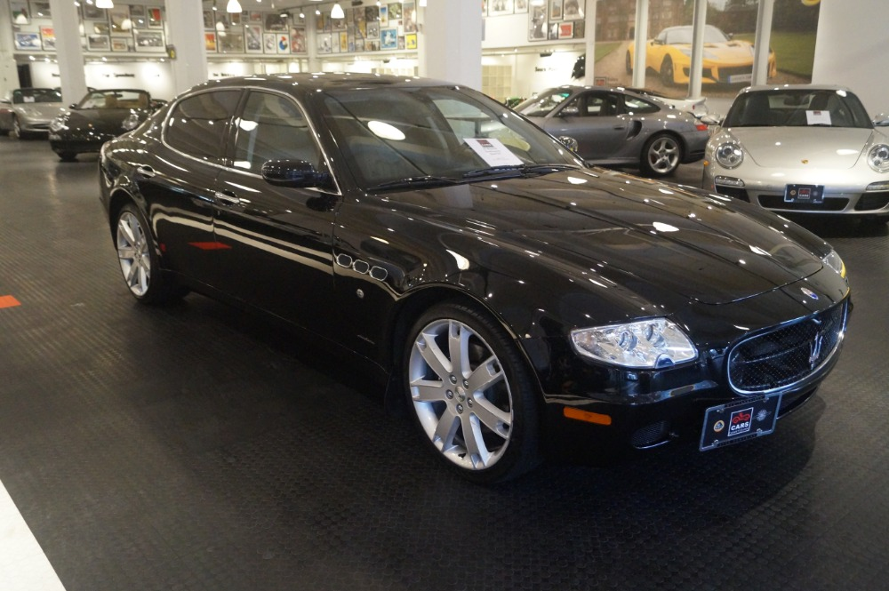 2007 maserati quattroporte sport gt stock 161218 16c for sale near san francisco ca ca. Black Bedroom Furniture Sets. Home Design Ideas