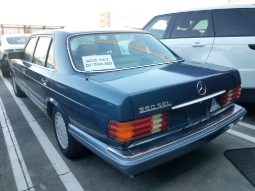 1990 Mercedes-Benz 560-Class 560 SEL