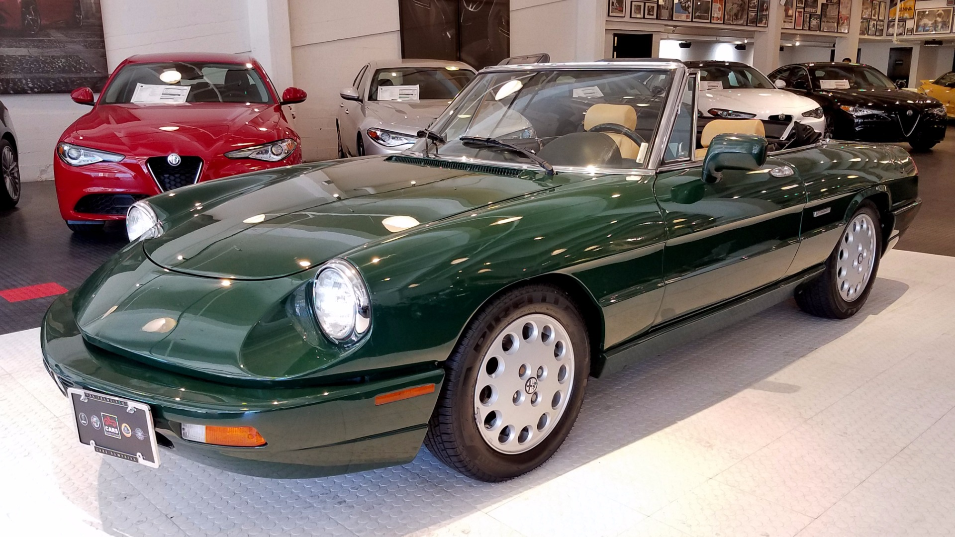 used 1991 alfa romeo spider veloce for sale ($13,900) | cars