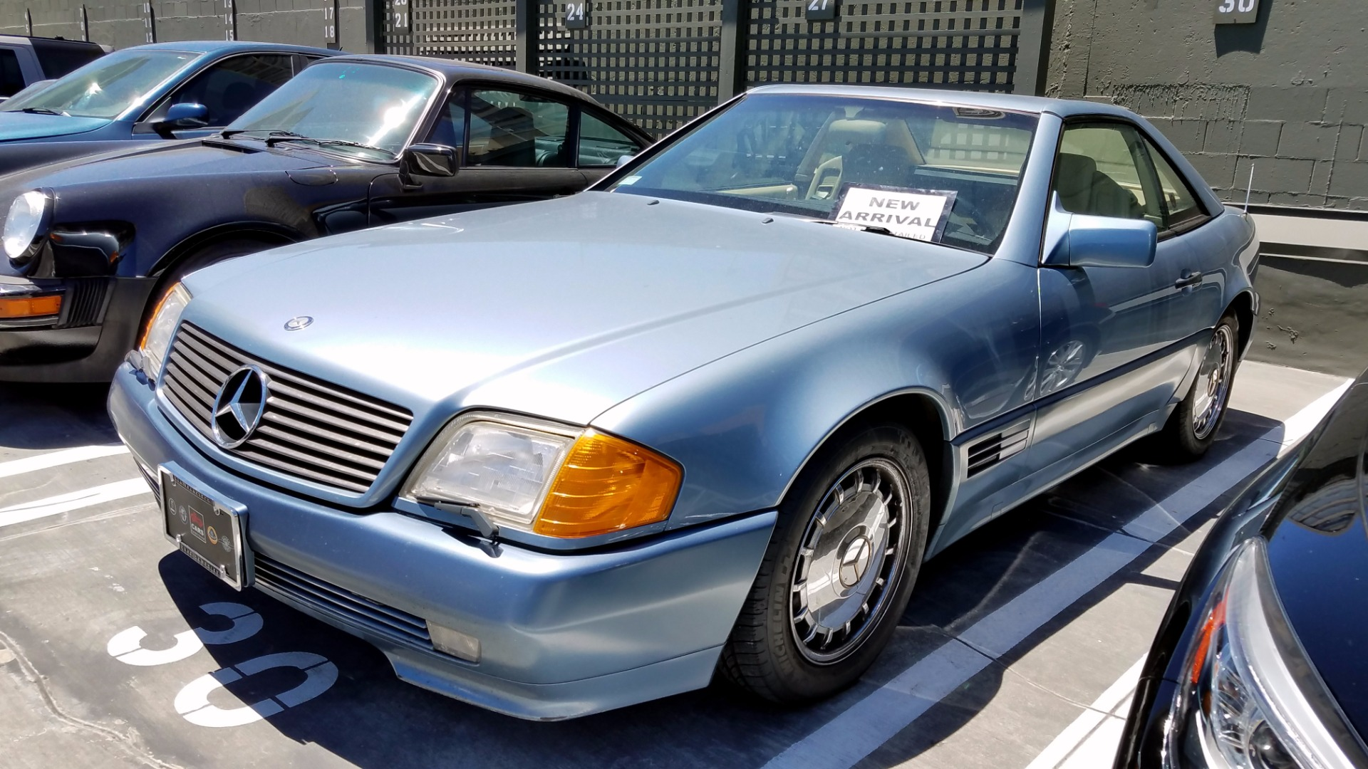 1990 Mercedes Benz 300 Class 300 Sl Stock 170611c For