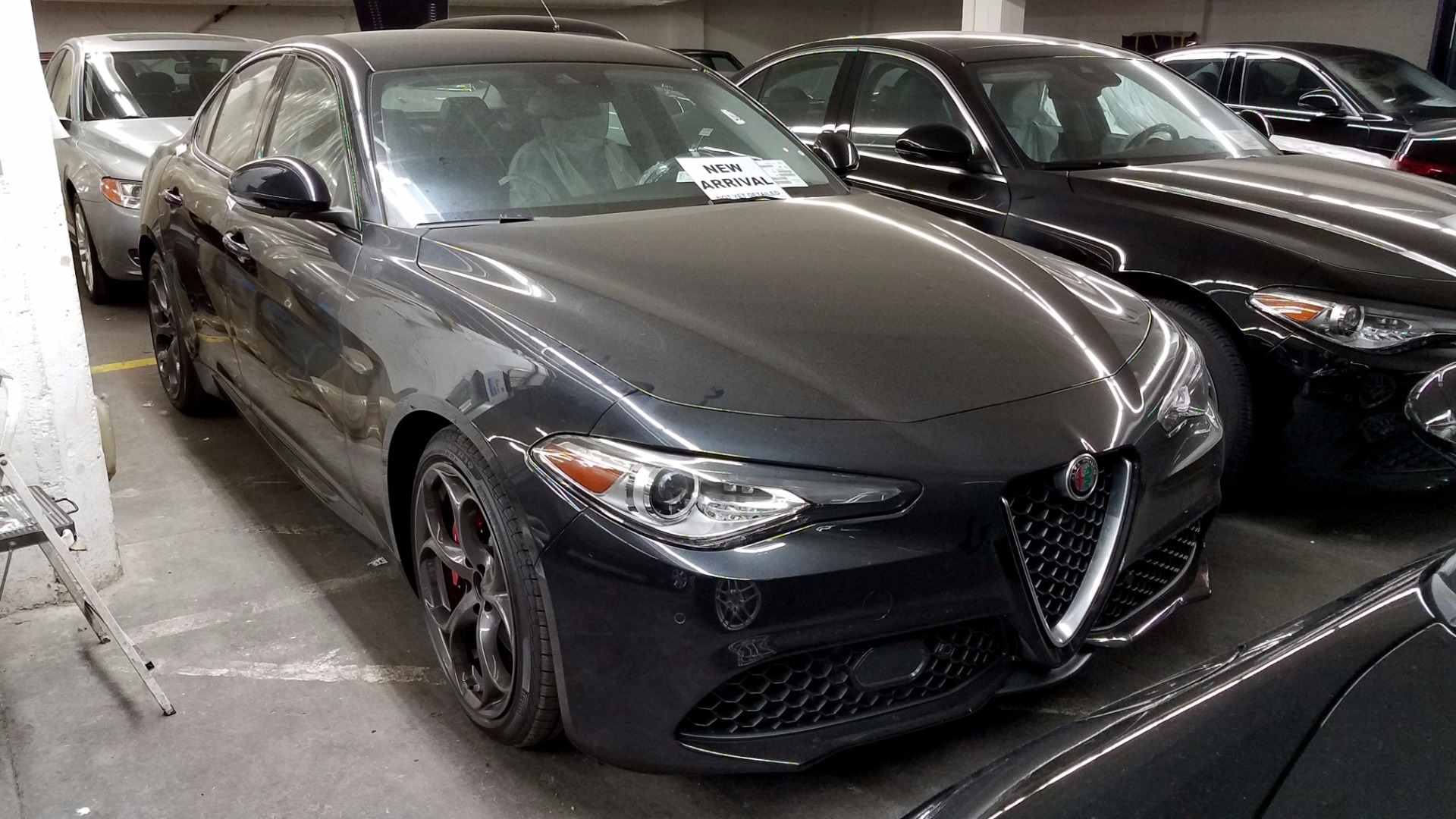 2017 alfa romeo giulia ti stock a171037 for sale near san francisco ca ca alfa romeo dealer. Black Bedroom Furniture Sets. Home Design Ideas