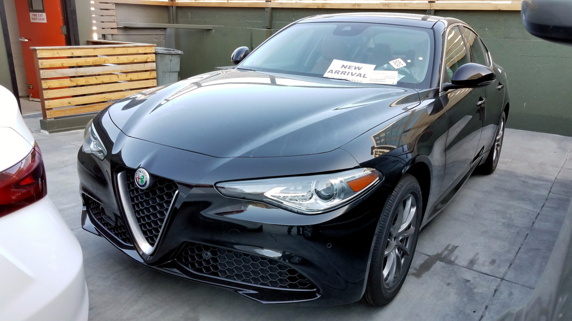 2017 alfa romeo giulia q4 stock a171040 for sale near san francisco ca ca alfa romeo dealer. Black Bedroom Furniture Sets. Home Design Ideas