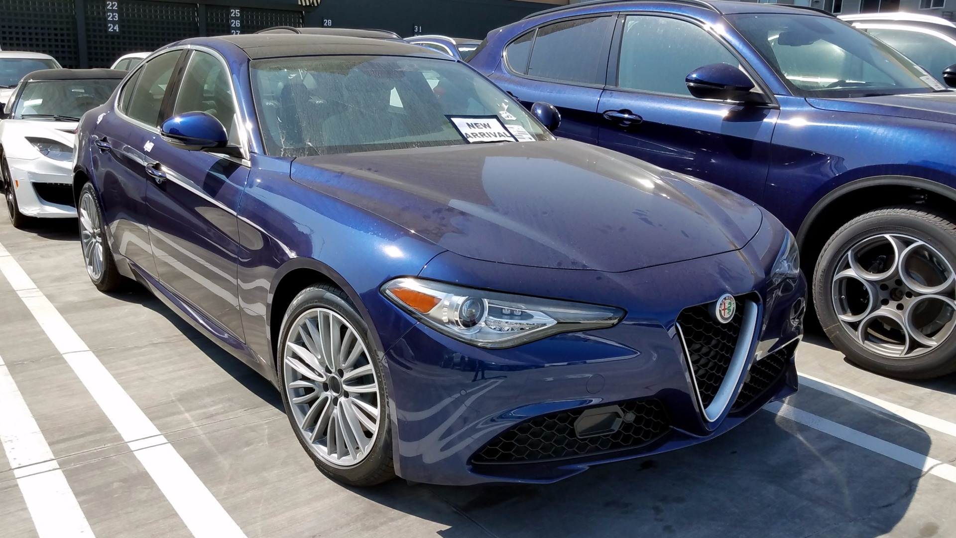 2017 alfa romeo giulia ti lusso stock a171045 for sale near san francisco ca ca alfa romeo. Black Bedroom Furniture Sets. Home Design Ideas