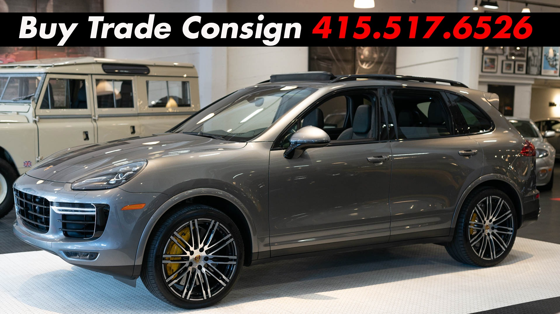 Used 2016 Porsche Cayenne Turbo S For Sale 79 900 Cars Dawydiak Stock 190108
