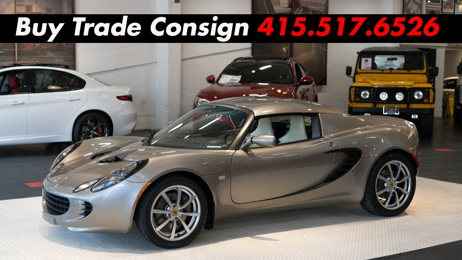 Used Cars San Francisco >> Used 2006 Lotus Elise For Sale 31 900 Cars Dawydiak