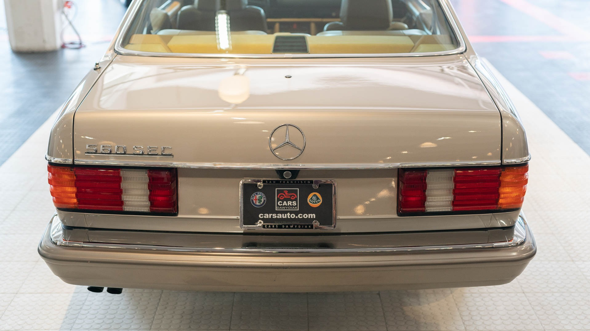 Used 1988 Mercedes-Benz 560-Class 560 SEC For Sale ($21,900) | Cars