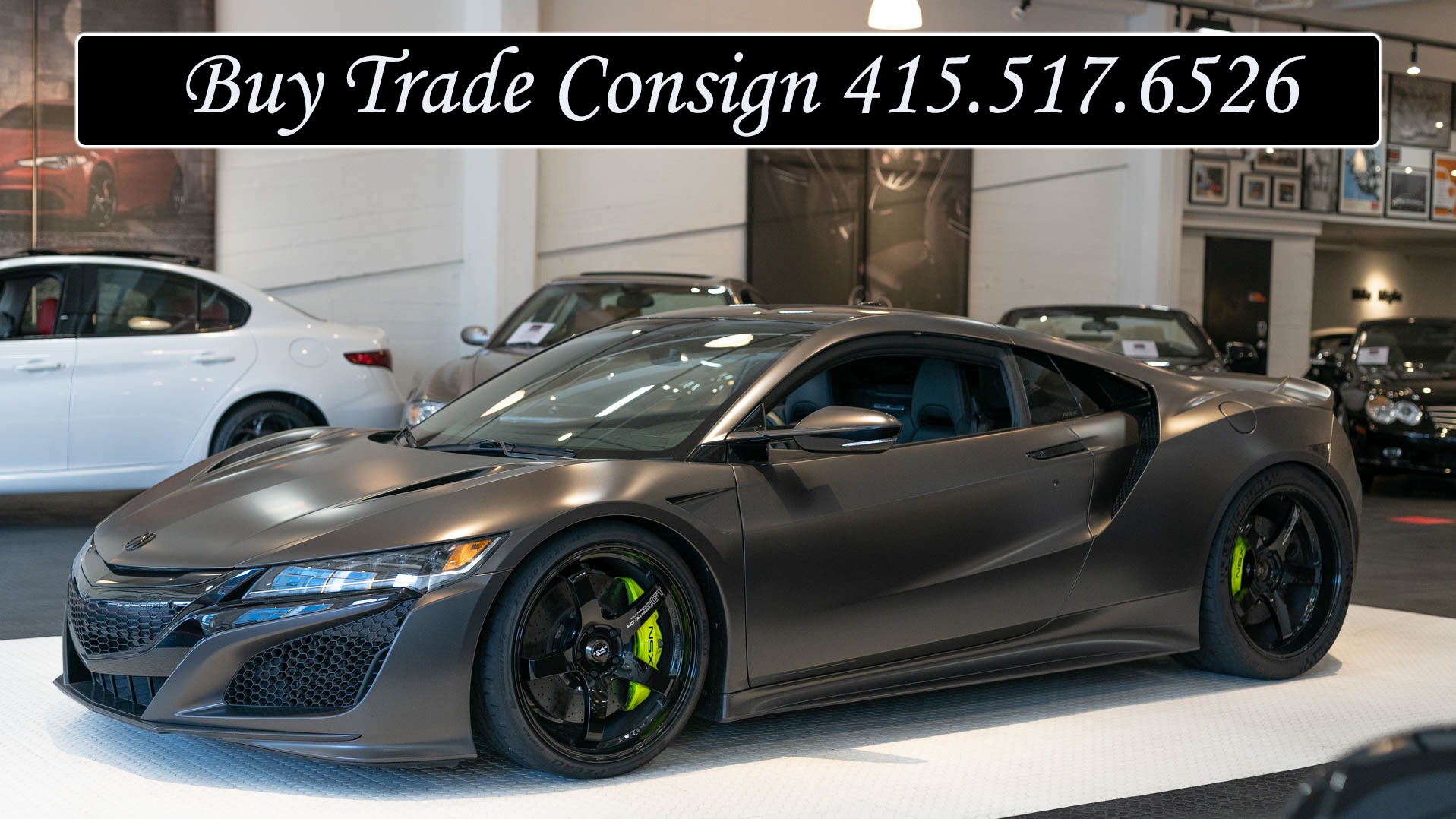 Sport Cars For Sale >> Used 2017 Acura Nsx Sh Awd Sport Hybrid For Sale 131 900
