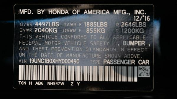 Used 2017 Acura NSX SH-AWD Sport Hybrid   San Francisco, CA