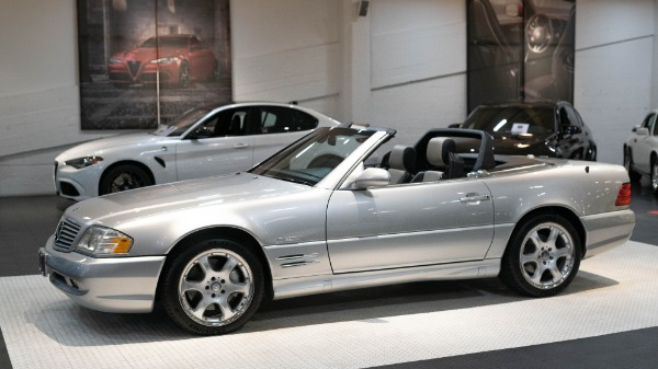2002 Mercedes-Benz SL-500