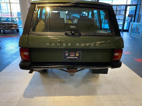 Used 1989 Land Rover Range Rover Classic | San Francisco, CA