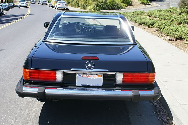 1989 Mercedes Benz 560sl Stock M080404 For Sale Near San