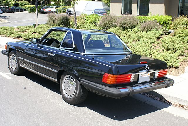 1989 mercedes benz 560sl stock m080404 for sale near san for Mercedes benz in san francisco