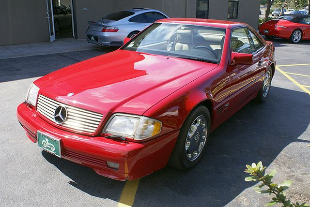 1995 Mercedes Benz Sl600 Stock M080806 For Sale Near San