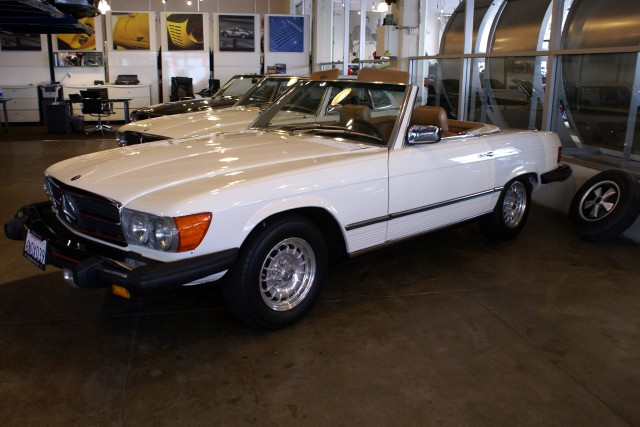 1980 Mercedes Benz 450sl Stock 110315 For Sale Near San