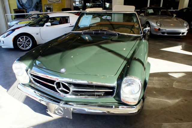 1967 Mercedes Benz 250sl Stock 110713 For Sale Near San