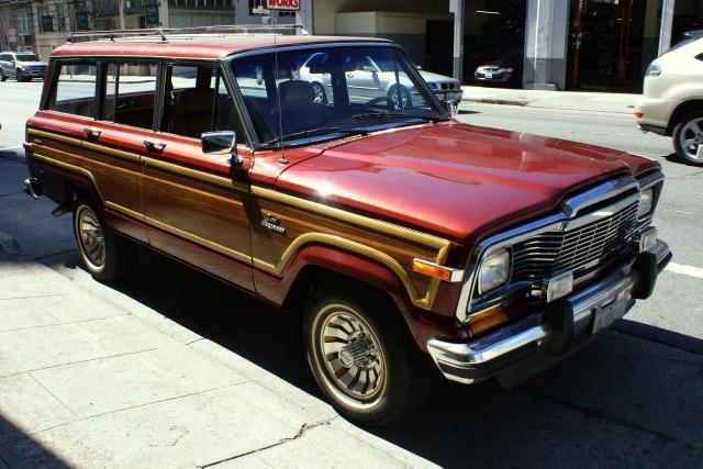 1985 jeep grand wagoneer stock 120301 for sale near san. Black Bedroom Furniture Sets. Home Design Ideas