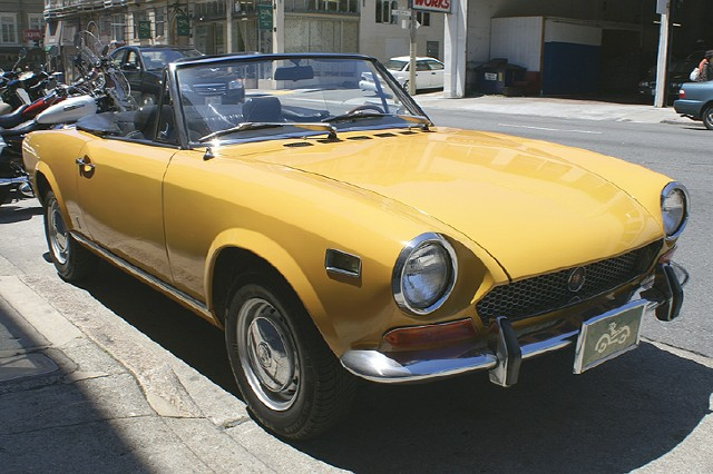 Used 1971 Fiat 124 Sport Spider San Francisco Ca