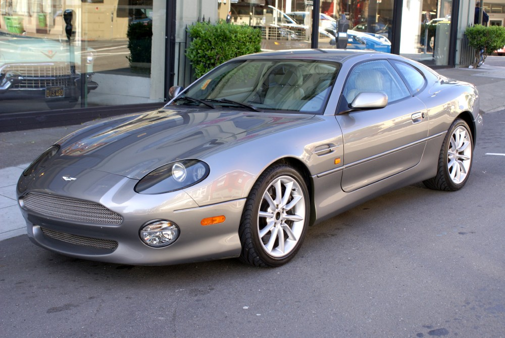 2001 aston martin db7 vantage coupe stock 130309 for