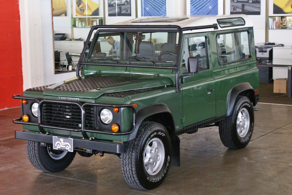 1997 Land Rover Defender 90 Hardtop Stock 130507 For