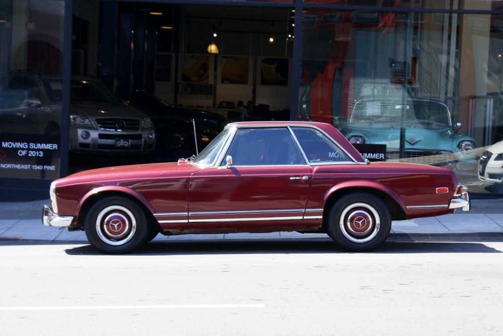 1968 Mercedes Benz 250 Sl Stock 130512 For Sale Near San