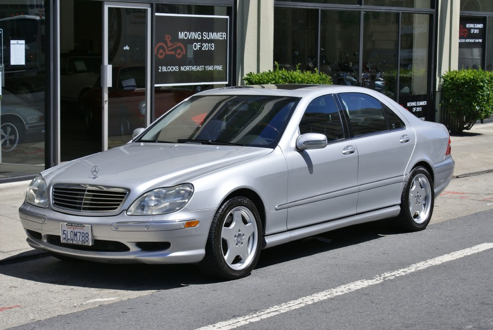 Nice Used 2001 Mercedes Benz S55 AMG | San Francisco, CA