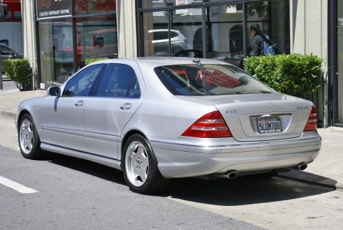 2001 mercedes benz s55 amg