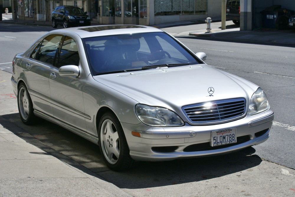 2001 Mercedes Benz S55 Amg Stock 130604 For Sale Near