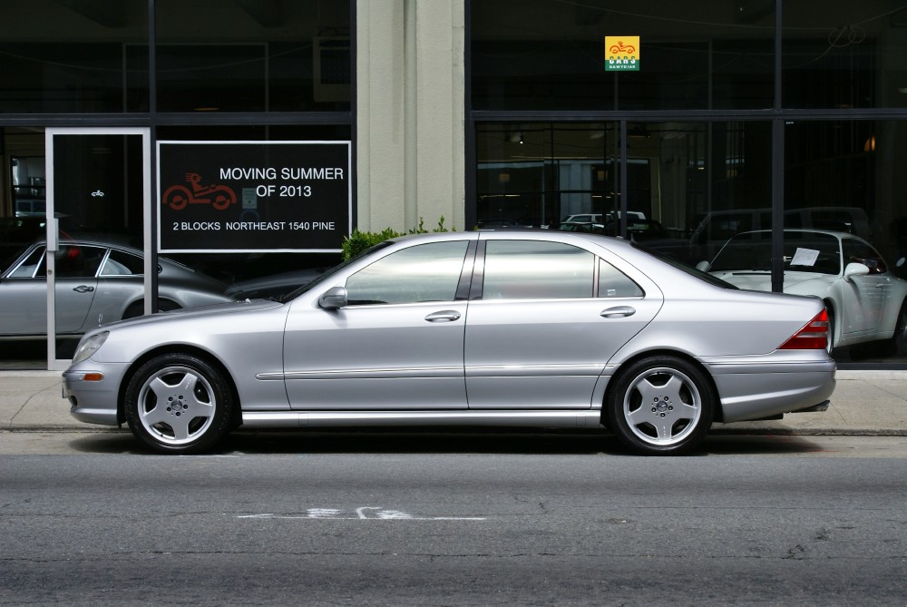 Used 2001 Mercedes Benz S55 Amg For Sale 16 700 Cars