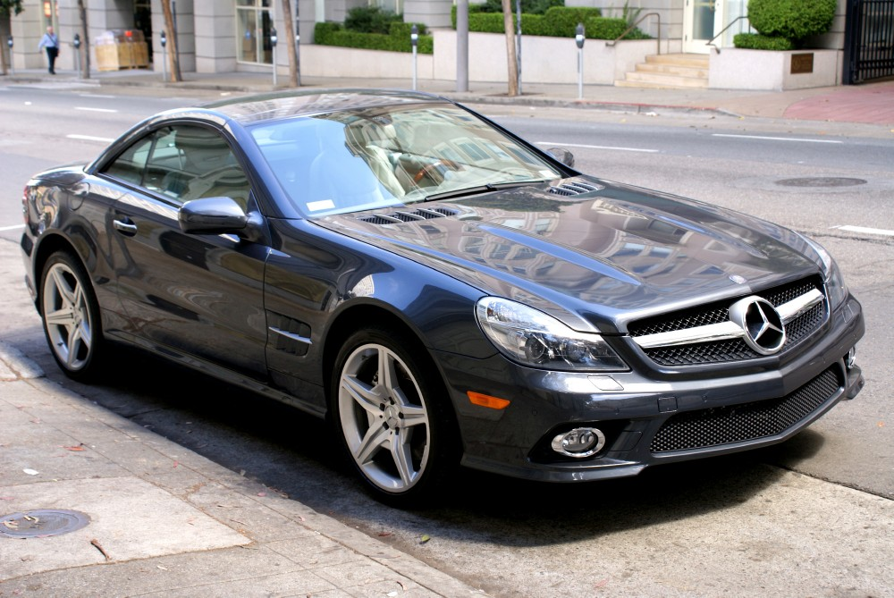 2009 mercedes benz sl550 stock 130803 for sale near san francisco ca ca mercedes benz dealer. Black Bedroom Furniture Sets. Home Design Ideas