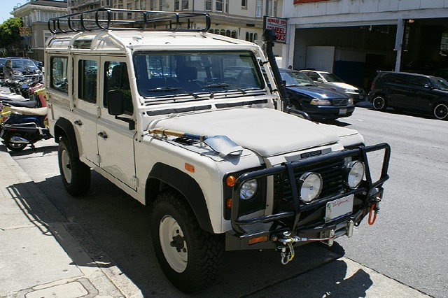 Land Rover Marin >> Used 1993 Land Rover Defender 110 For Sale ($68,900) | Cars Dawydiak Stock #100703