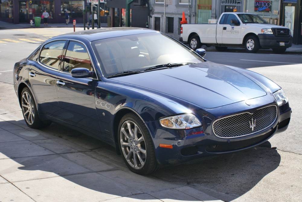 2007 maserati quattroporte executive gt automatic stock 130903 for sale near san francisco ca. Black Bedroom Furniture Sets. Home Design Ideas