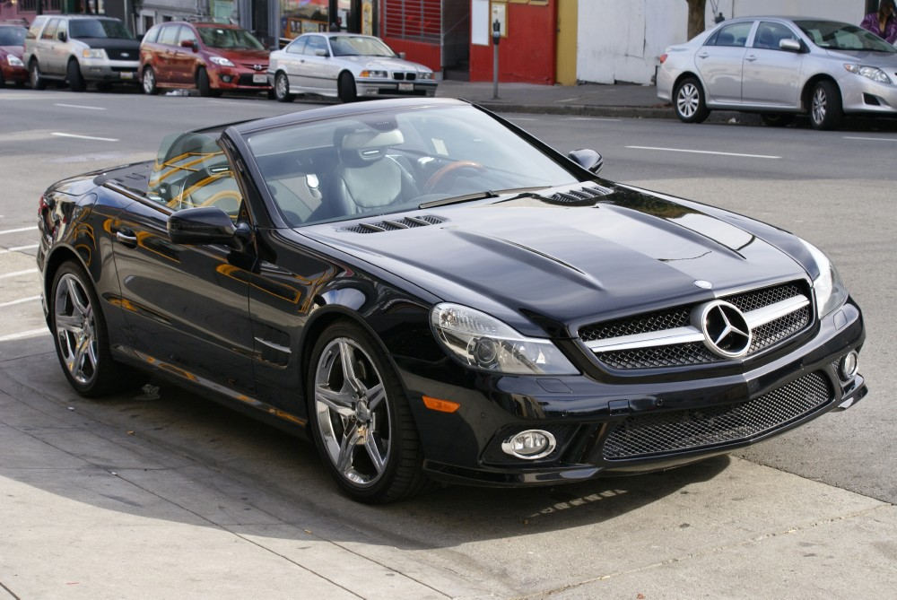 2009 mercedes benz sl class sl550 stock 131103 for sale near san francisco ca ca mercedes. Black Bedroom Furniture Sets. Home Design Ideas