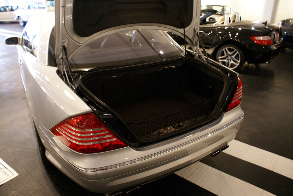 2004 Mercedes Benz Cl Class Cl55 Amg Stock 140412 For
