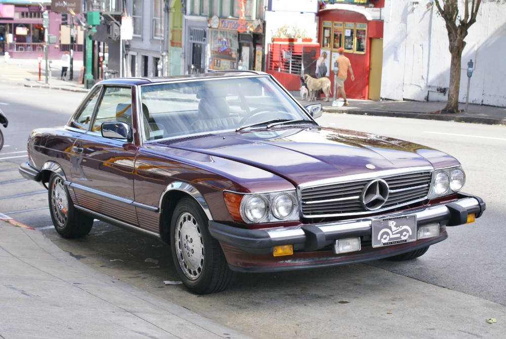 1988 Mercedes Benz 560 Class 560sl Stock 140504 For Sale