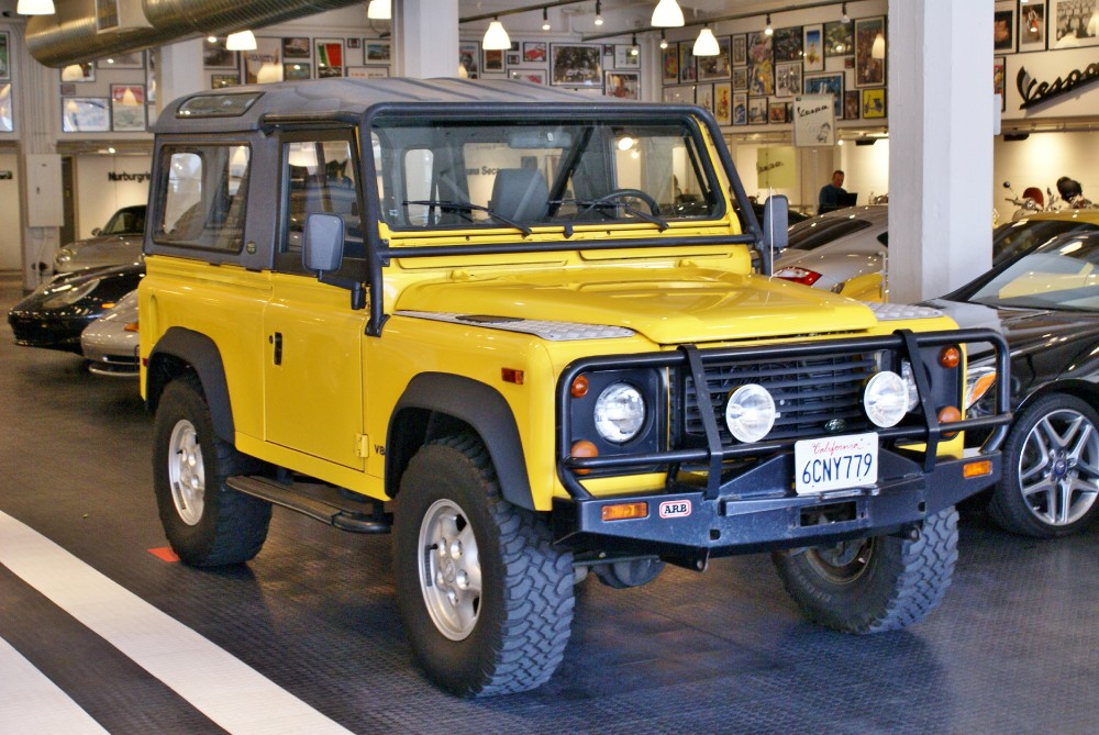 1997 land rover defender 90 stock 140515 for sale near san francisco ca ca land rover dealer - Land rover garage near me ...